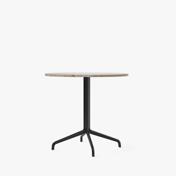 Harbour Column Dining Table Ø80 | Sand / Star Base