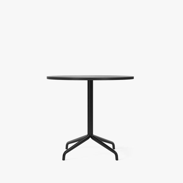 Harbour Column Dining Table Ø80 | Black / Star Base