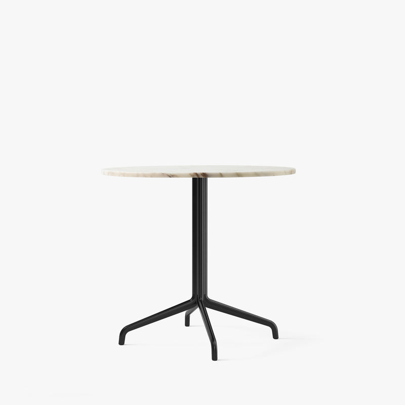 Harbour Column Dining Table Ø80 | Offwhite / Star Base
