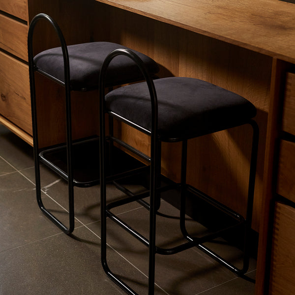 ANGUI Barchair | Anthracite (High)
