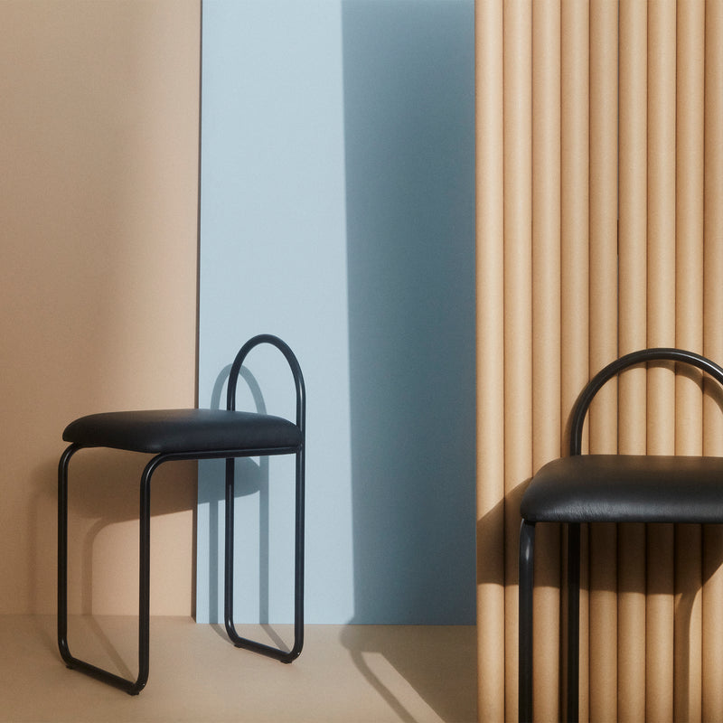 ANGUI Chair | Black Leather
