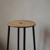 Adam Stool R031 | Oak / Black