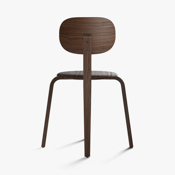 Afteroom Chairs Plus, Wood Base | Dark Oak