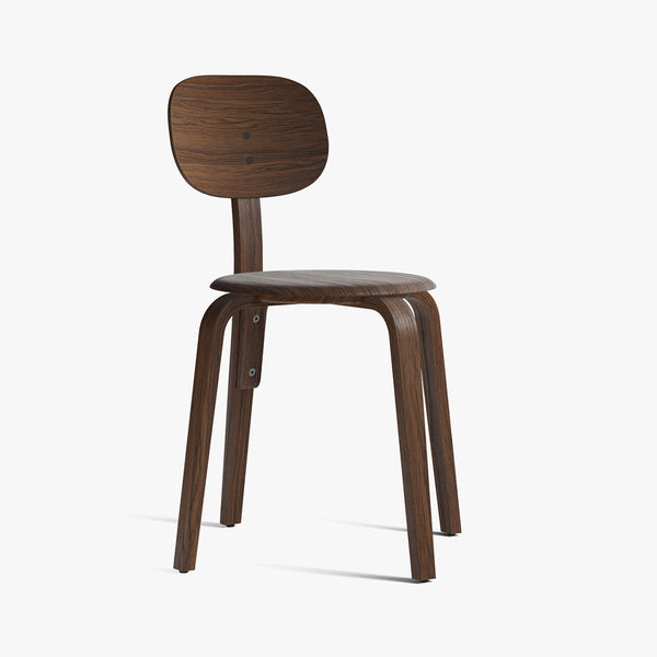 Afteroom Plywood Chair | Dark Oak