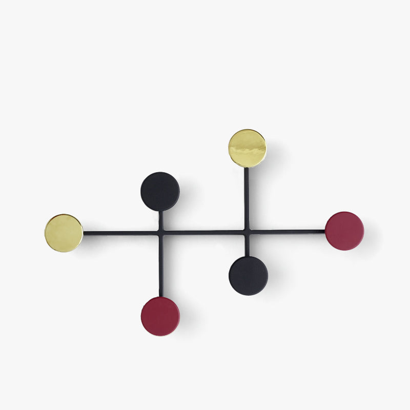 Afteroom Coat Hanger | Black/Brass