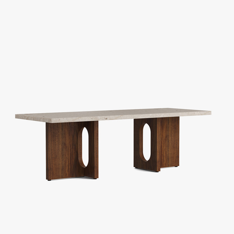 Androgyne Lounge Table | Walnut