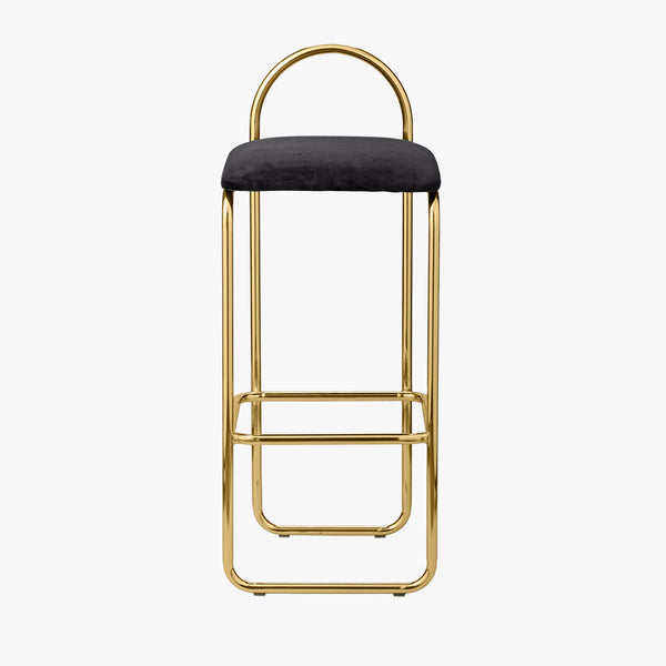ANGUI Barchair | Anthracite/Gold (High)
