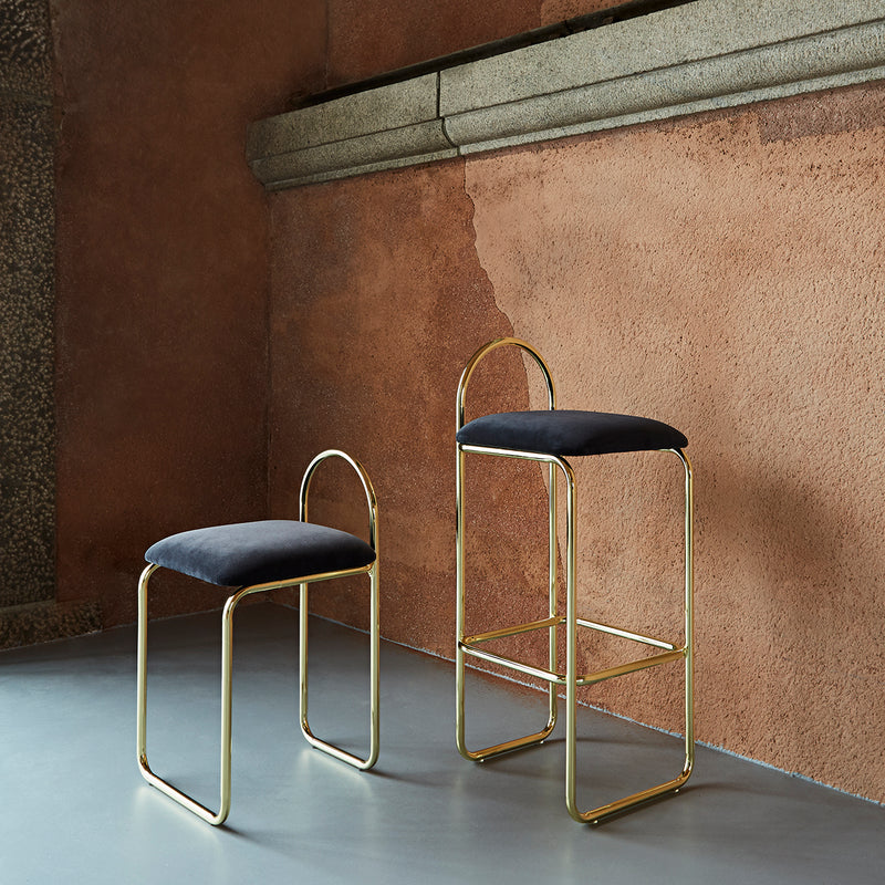 ANGUI Chair | Anthracite/Gold