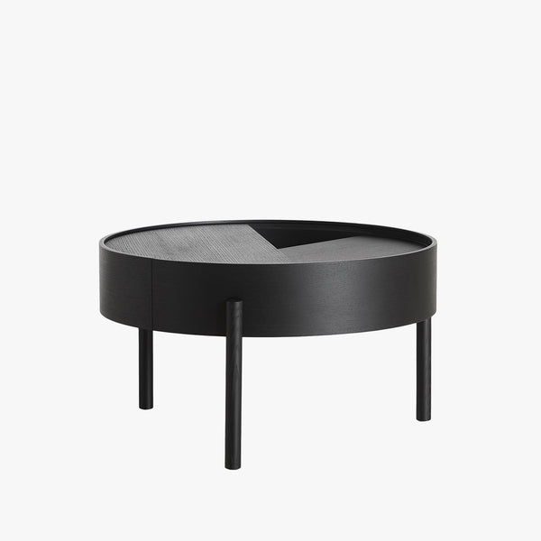 Arc Coffee Table | Black Ash