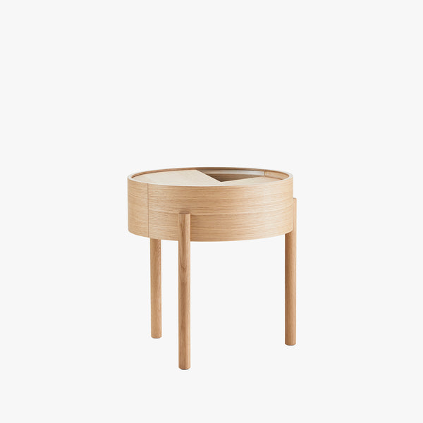 Arc Side Table | Oiled Oak