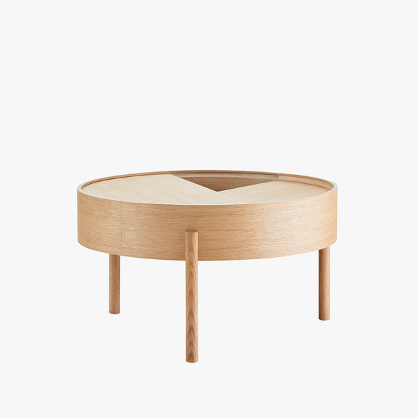 Arc Coffee Table | Oiled Oak