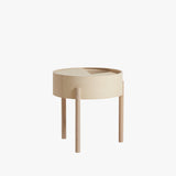 Arc Side Table | White Ash