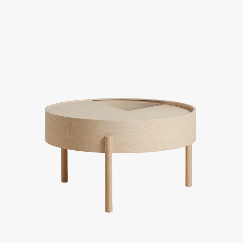 Arc Coffee Table | White Ash