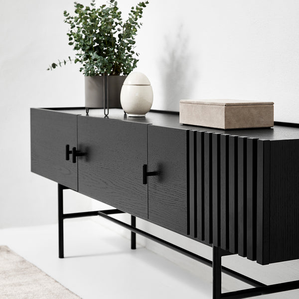 Array Low Sideboard (150) | Black
