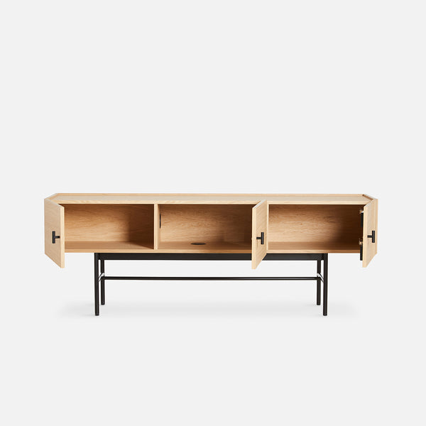 Array Low Sideboard (150) | Oak