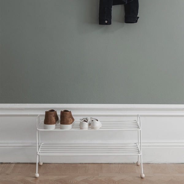 Bill Shoe Shelf | White