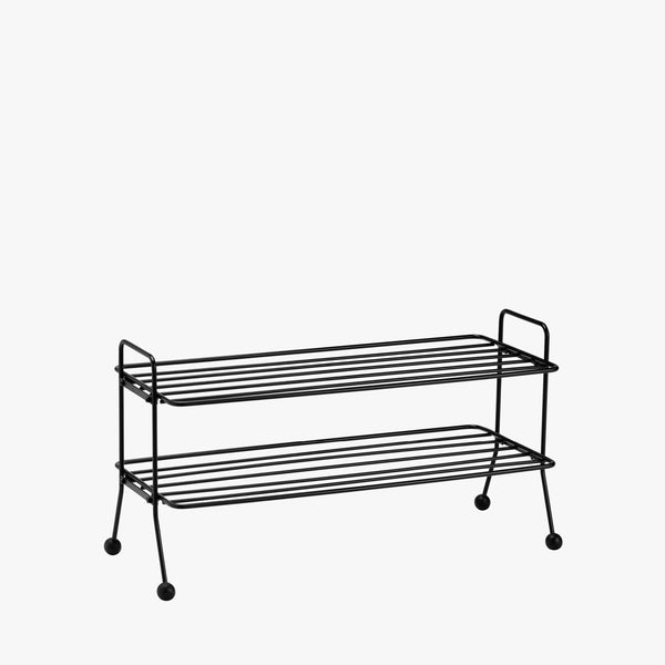 Bill Shoe Shelf | Black