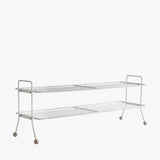 Bill Shoe Shelf, L | White