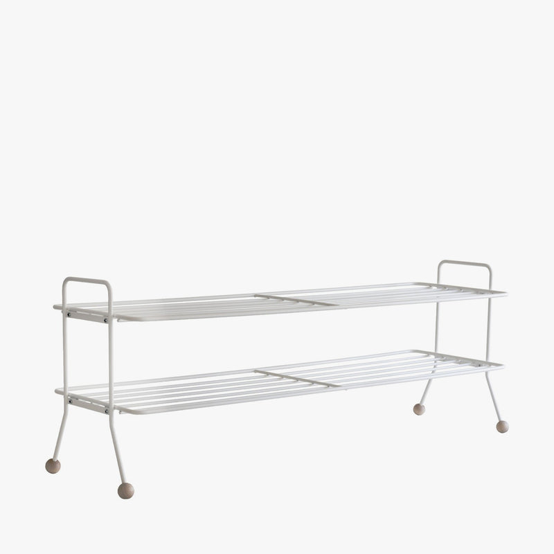 Bill Shoe Shelf | White (L)