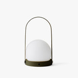 Carrie LED Portable Lamp | Olive
