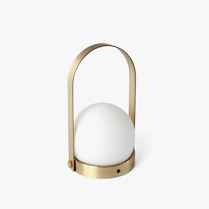 Carrie LED Portable Lamp, Brass
