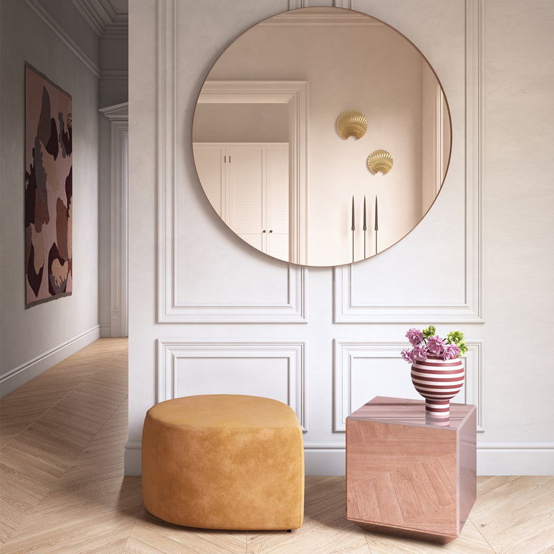 SPECILUM Mirror Table | Rose (S)