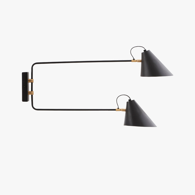 Club Wall Lamp, Double