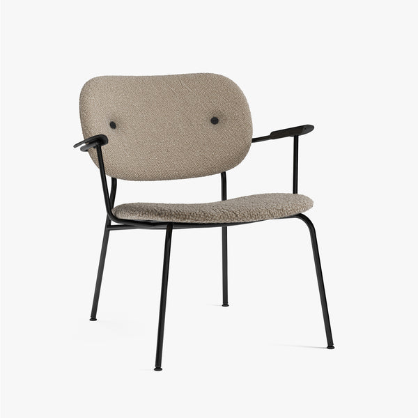 Co Lounge Chair, Fully | Beige Fabric