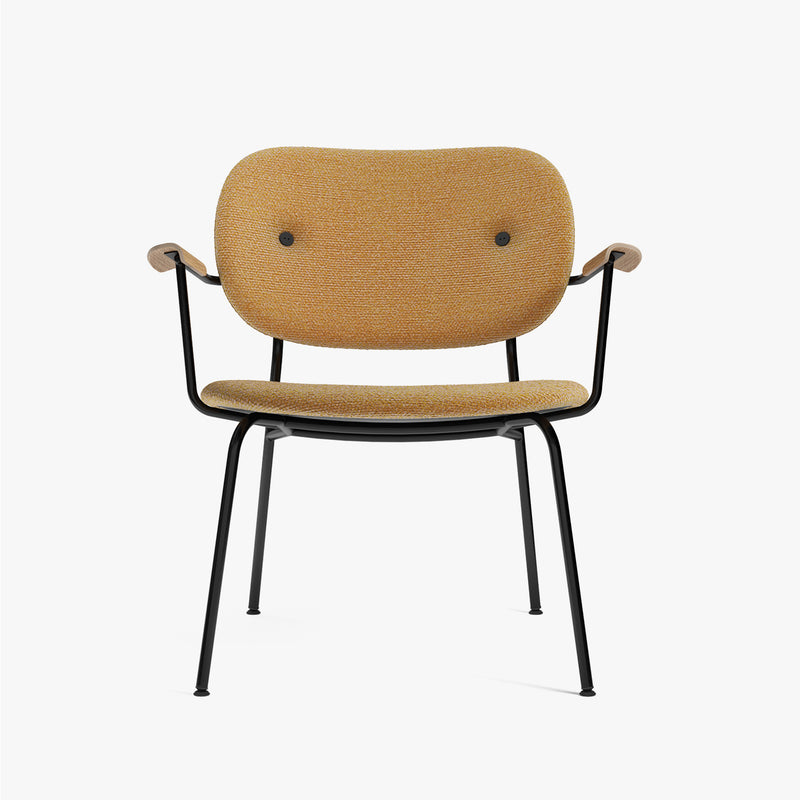 Co Lounge Chair, Fully | Cognac Fabric