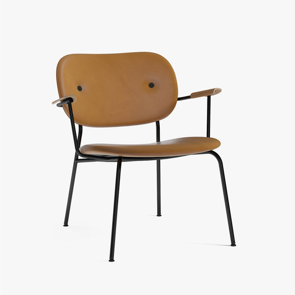 Co Lounge Chair, Fully | Cognac Leather