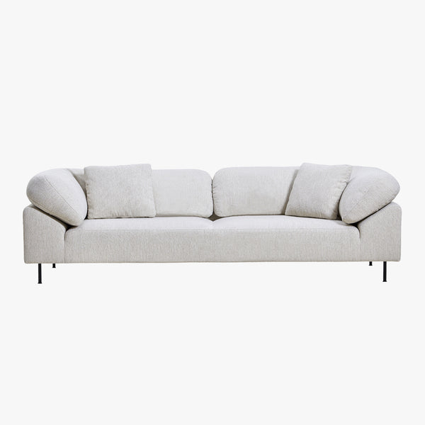 Collar 3-Seater Sofa | Grey