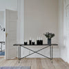 Handvärk Console Table - Black-Brass