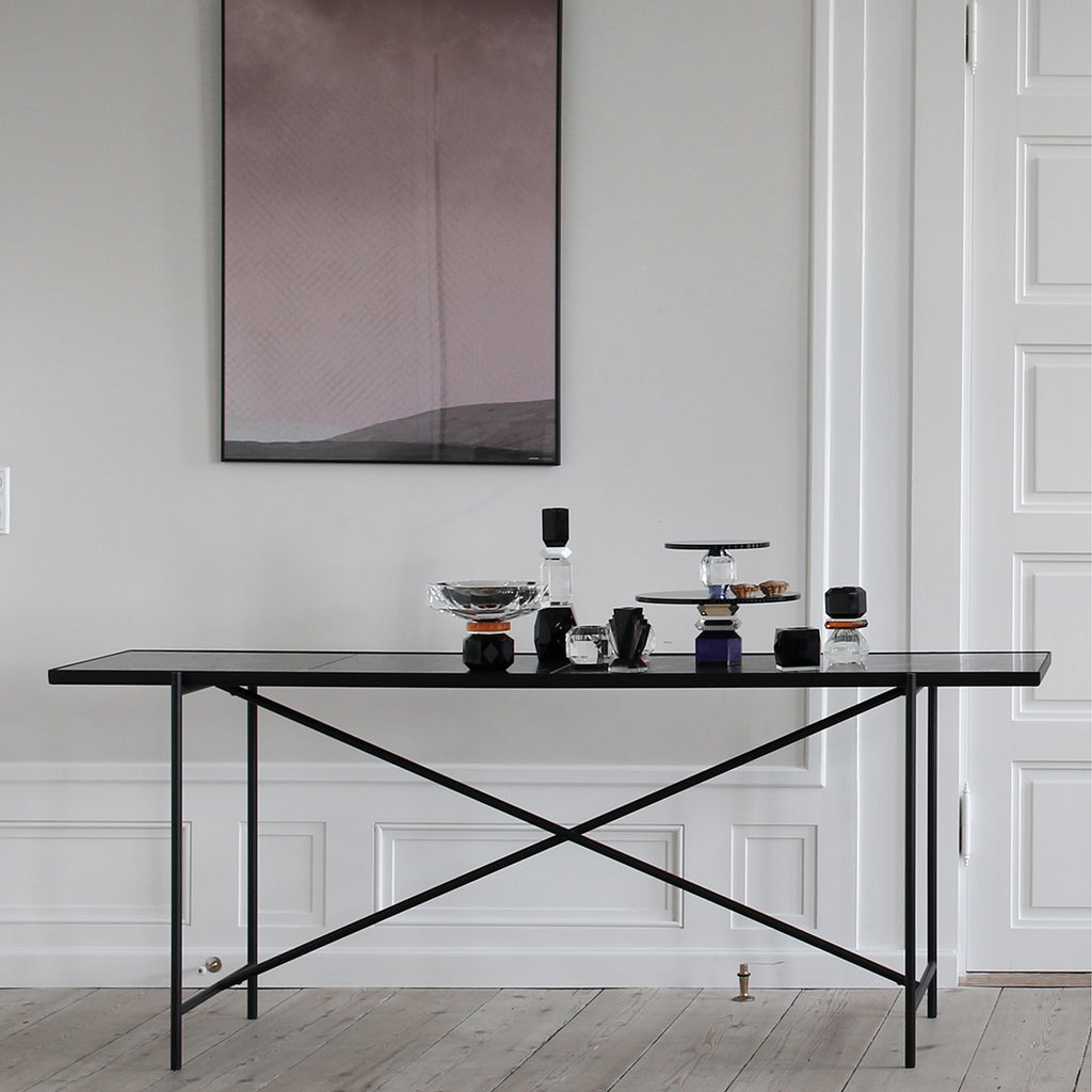 Handvärk Console Table - Black