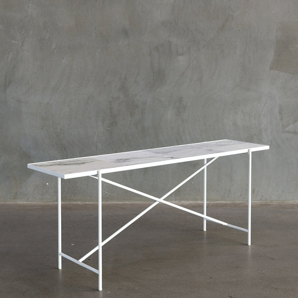 Handvärk Console Table - White