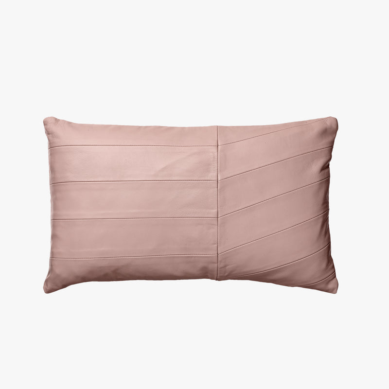 CORIA Leather Cushion - Rose