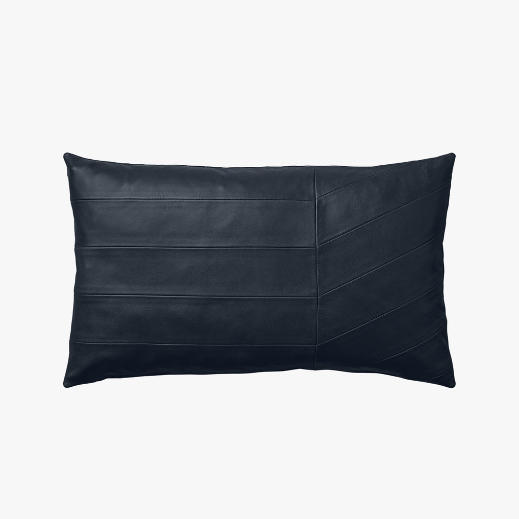 CORIA Leather Cushion - Navy