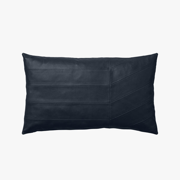 CORIA Leather Cushion | Navy