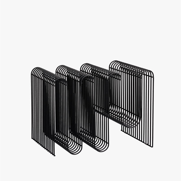 CURVA Magazine Holder | Black