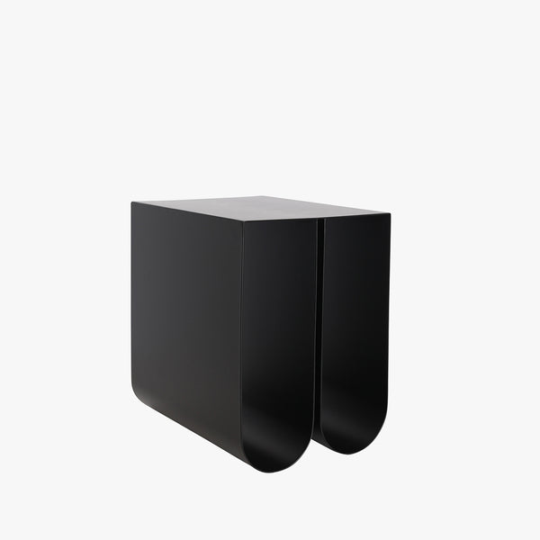 Curved Side Table | Black