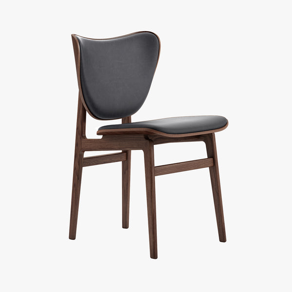 Elephant Dining Chair | Dark Stained