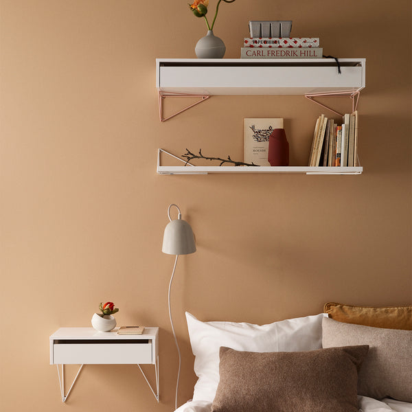 Pythagoras Shelf | White (L)