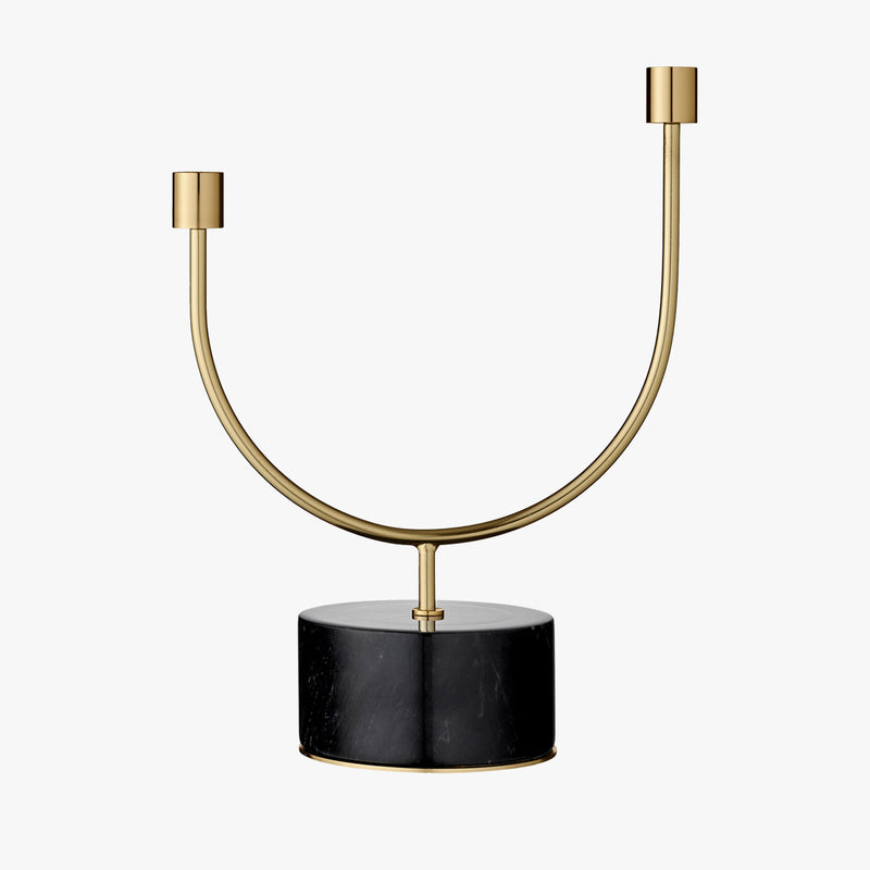 GRASIL Candle Holder (Black)