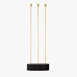 GRASIL Floor Candle Holder | Gold