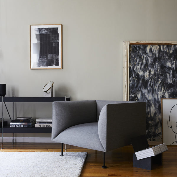 Godot 1 Seater Sofa | Grey