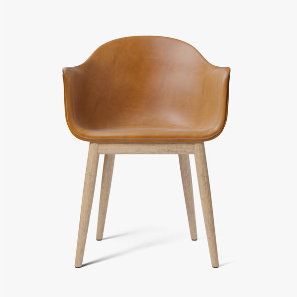 Harbour Chair | Cognac Leather / Natural Oak
