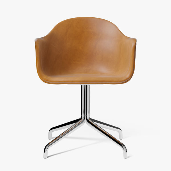 Harbour Chair | Cognac Leather / Swivel