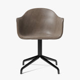 Harbour Chair | Brown Leather / Swivel