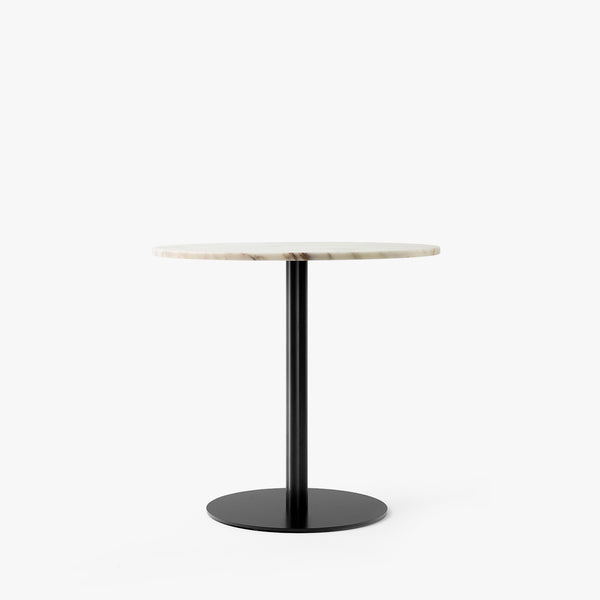 Harbour Column Dining Table Ø80 | Offwhite