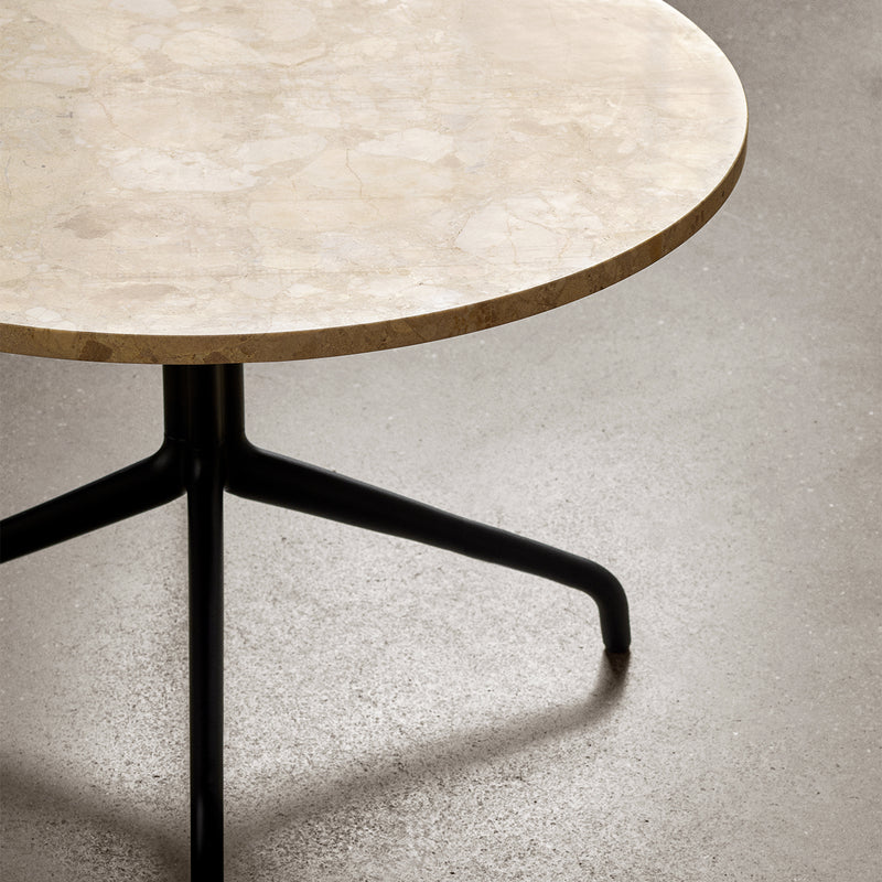 Harbour Column Lounge Table Ø80 | Sand