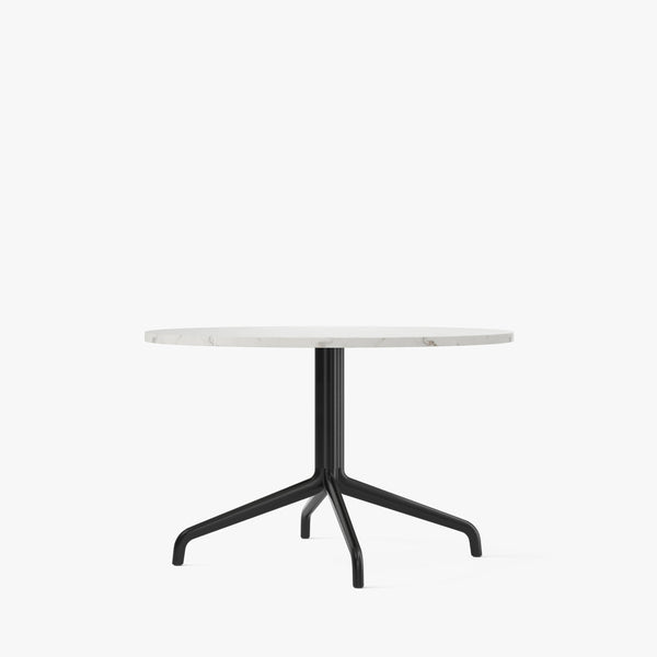 Harbour Column Lounge Table Ø80 | Offwhite
